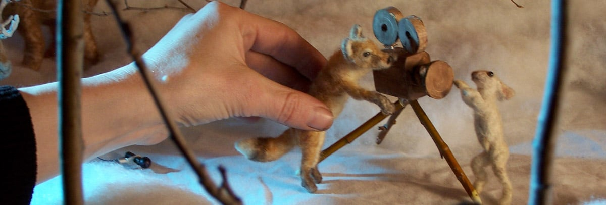 Stop Motion Animation and Puppet Building with Veronica Verkley